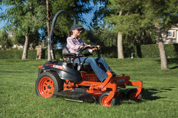 Kubota | Zero-Turn Mowers | Z400 Series