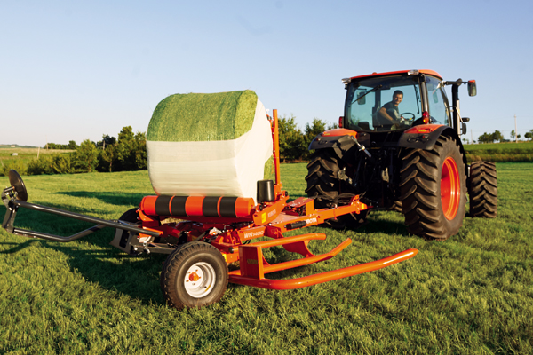 Kubota | WR Series Bale Wrappers | Model WR1400