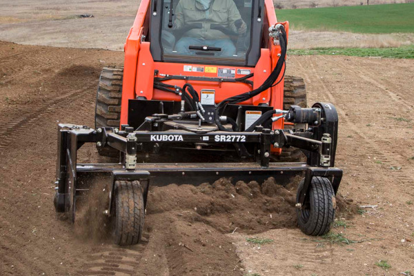Land Pride | Kubota by Land Pride | SR27 & SRF27 Series Powered Rakes