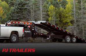 We work hard to provide you with an array of products. That's why we offer PJ Trailers for your convenience.