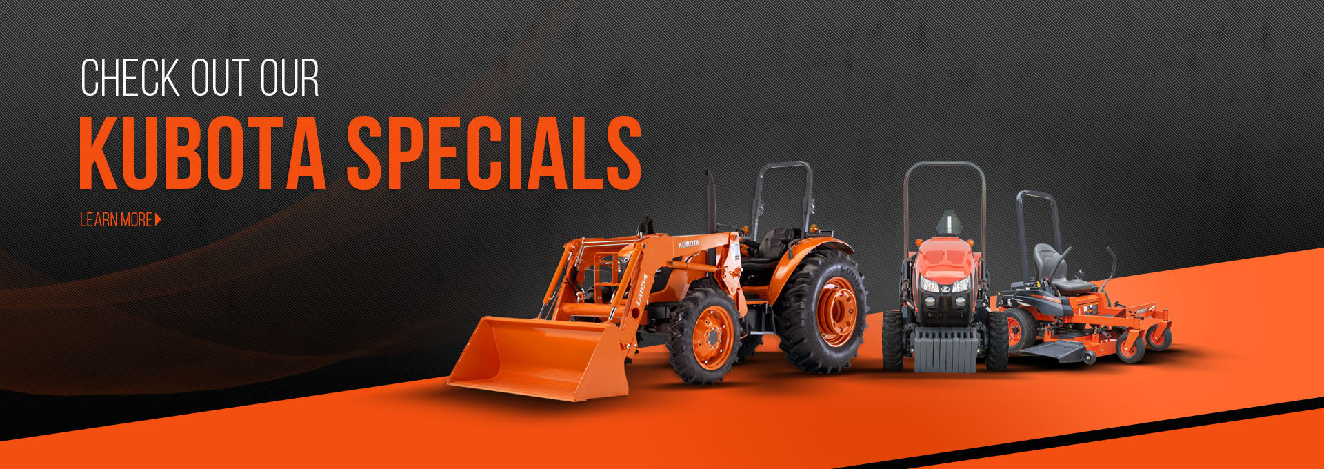 Take a look at all the amazing Kubota Specials we have to offer, only at Ginop Sales Inc. in Michigan