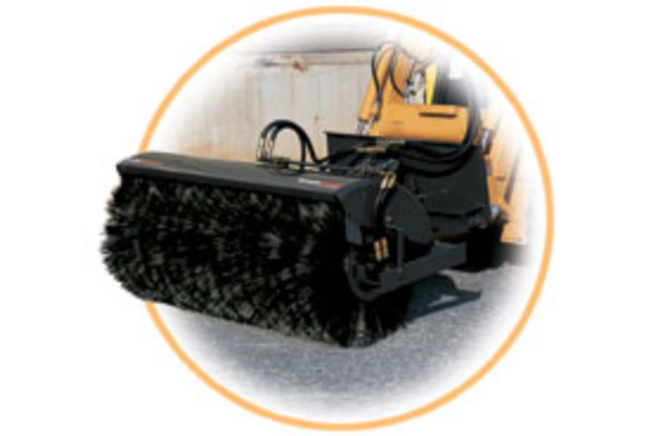 Woods | Skid Steer Attachments | Angle Brooms