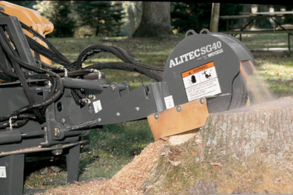 Woods | Skid Steer Attachments | Stump Grinders