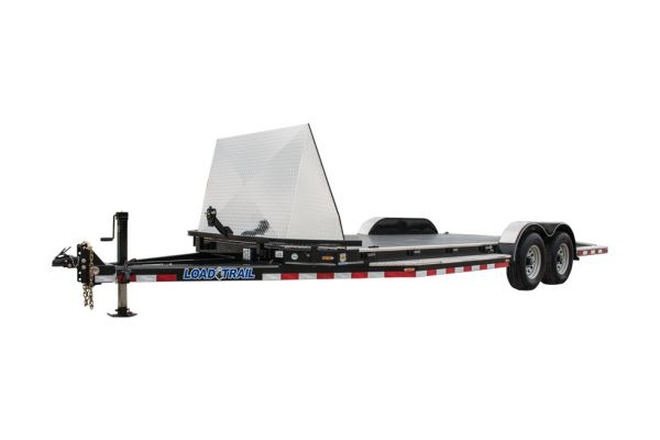 Load Trail CZ10 – Tandem Axle Sport Hauler 9,990 Lb. 5″ Channel Frame and 45 Degree Front Corners