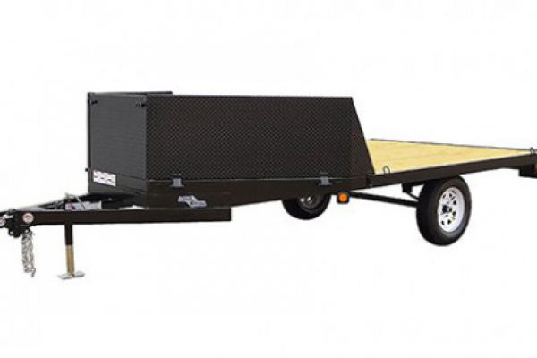 "Load Trail | Single Axle and Single Axle Landscape | Model AT03 Single Axle Deck Over ATV 2,990 Lb w/4"" Channel Frame"