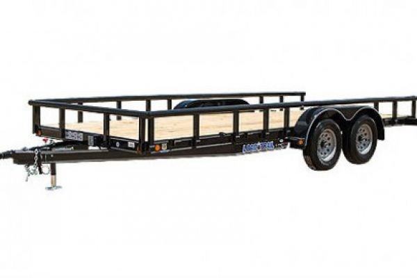 Load Trail CS07 - Tandem Axle 7,000 lb Pipe Top Carhauler Channel Frame