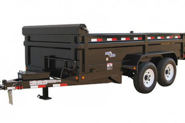 "Load Trail DT14 - Tandem Axle Dump 14,000 Lb w/6"" Channel Frame"