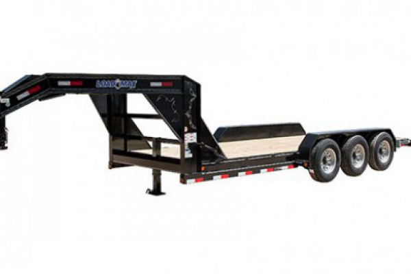 "Load Trail GB21 - Gooseneck Carhauler 21,000 Lb w/Drop Axles & 8"" Channel Frame"