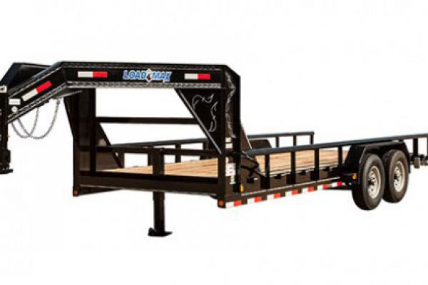 "Load Trail GF14 - Gooseneck Carhauler 14,000 Lb w/8"" Channel Frame and Pipe Top"