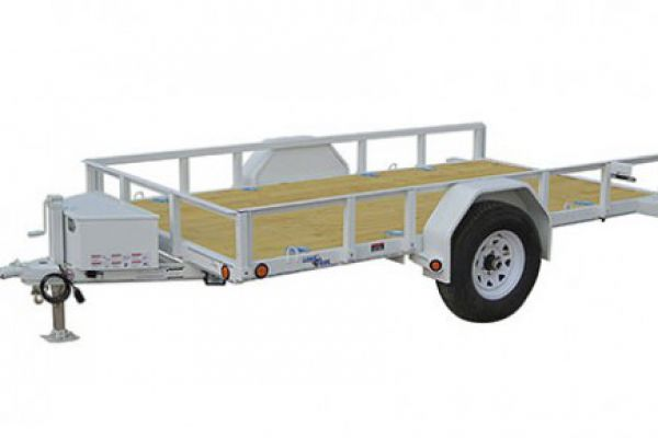 "Load Trail SB03 - Single Axle 2,990 Lb w/4"" Channel Frame"