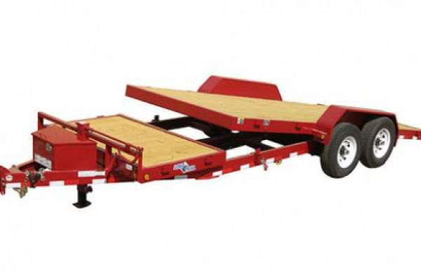 "Load Trail TD14 - Tilt Deck Gravity 14,000 Lb w/6"" Channel Frame"