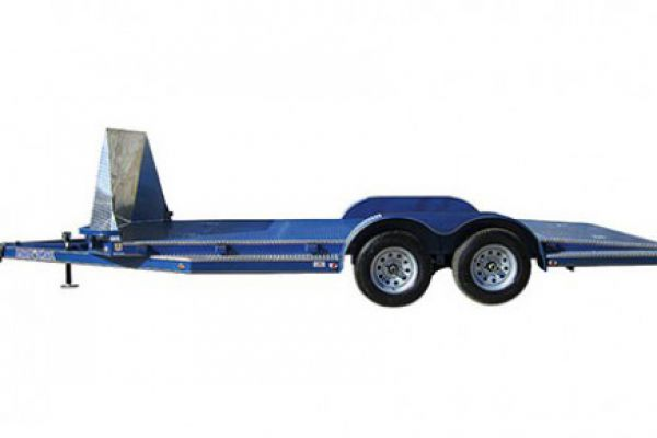 "Load Trail CZ07 - *NEW* Tandem Axle Sport Hauler 7,000 Lb 5"" Channel Frame and 45 Degree Front Corners"