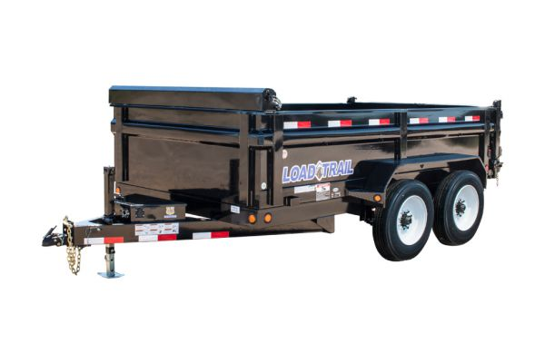 Load Trail DT16 – Tandem Axle Dump 16,000 Lb w/6″ Channel Frame
