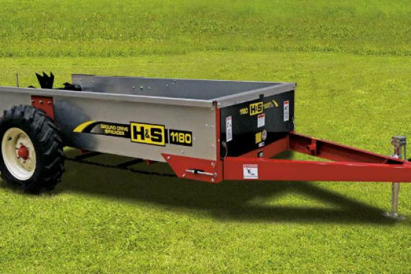 H&S | Ground Drive Manure Spreaders | Model Model 1180