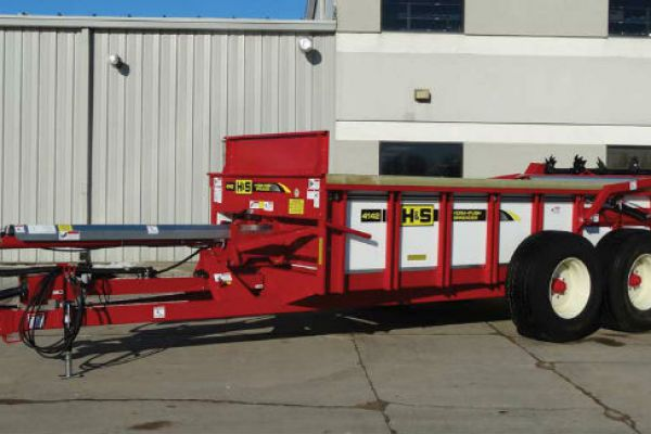 H&S | Hydraulic Push Manure Spreaders | Model Model HPH4142
