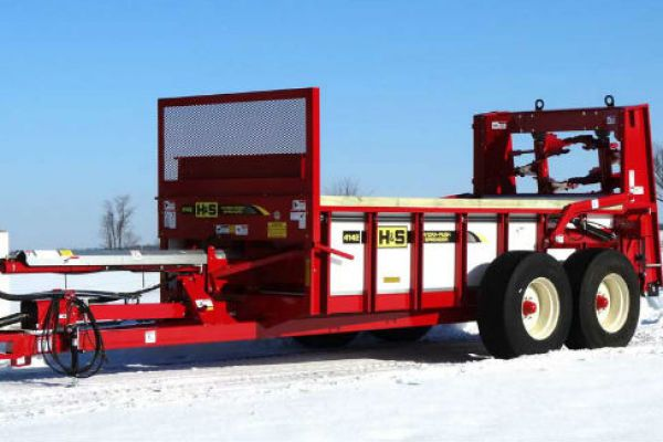 H&S | Hydraulic Push Manure Spreaders | Model Model HPV4142