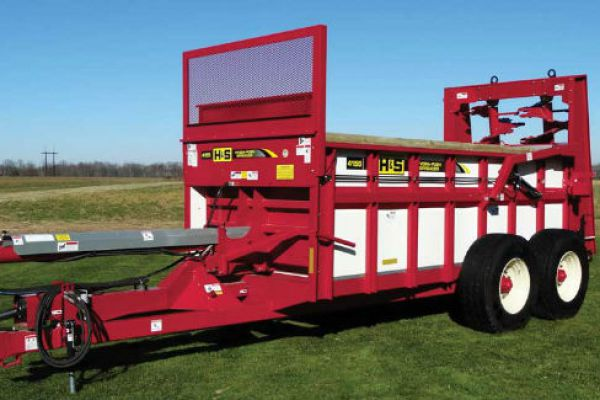 H&S | Manure Spreaders | Hydraulic Push Manure Spreaders