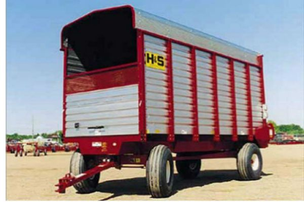 H&S | Forage Boxes | Rear Unload Forage Boxes