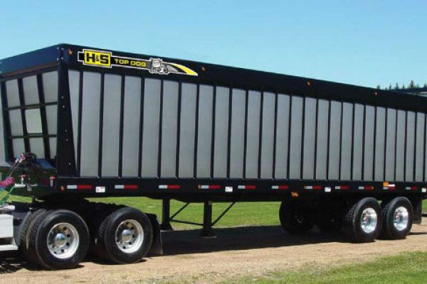 H&S | Forage Boxes | Top Dog Semi-Trailer Forage Boxes