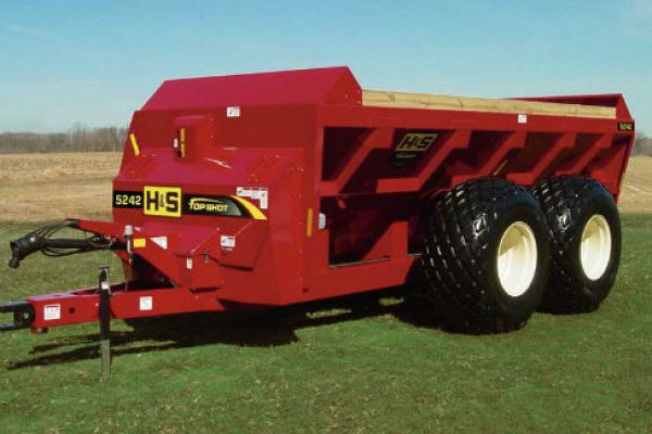 H&S | Manure Spreaders | Top Shot Side Discharge Manure Spreaders