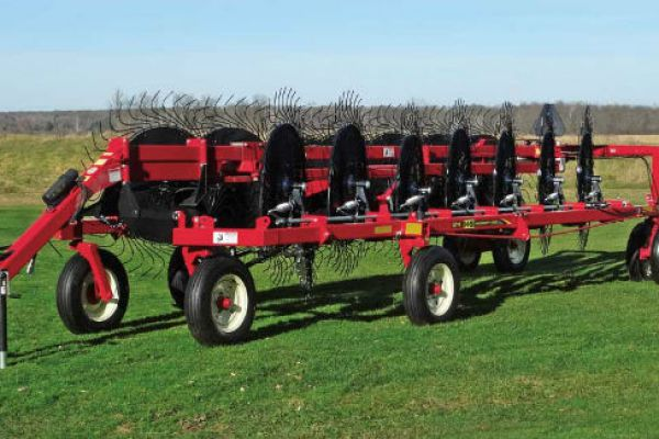 H&S | 5100 Series Hi-Capacity Rakes | Model 5114