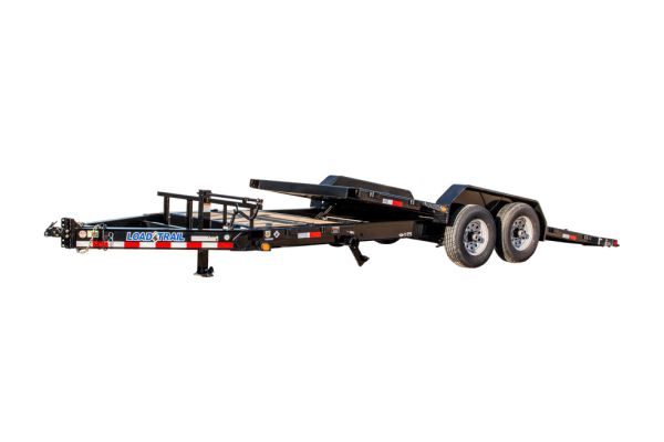 Load Trail TH14 – Tilt-N-Go Tilt Deck 14,000 Lb. w/8″ I-Beam Frame