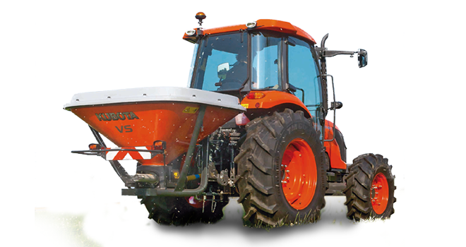 kubota spreaders VS220