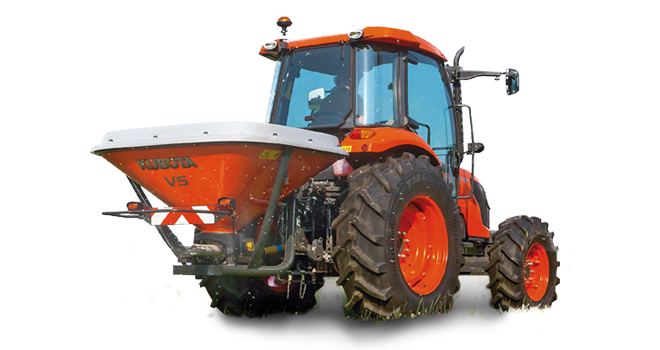 kubota spreaders VS600