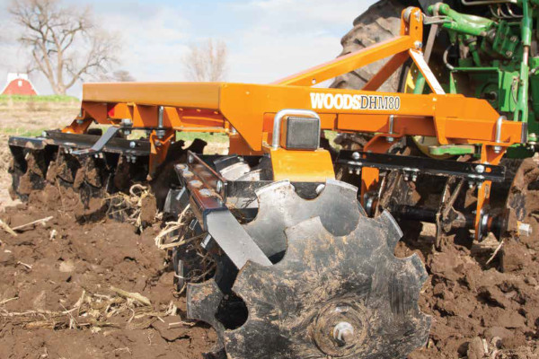 Woods | Disc Harrows | Model DHM80